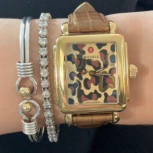 ⭐️Michele⭐️Deco Gold Leopard